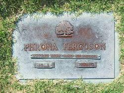 Phrona <i>Hillard</i> Ferguson