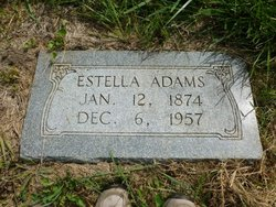 Lettie Estella <i>Frazier</i> Adams