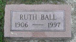 Frances Ruth <i>Moss</i> Ball