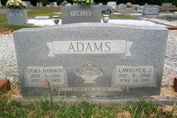 Dora Dean <i>Harmon</i> Adams
