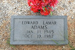Edward Lamar Adams