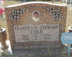 Claudette <i>Stewart</i> Cole