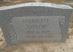 Ardie Lee Taylor