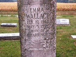 Emma <i>Wallace</i> Harrington