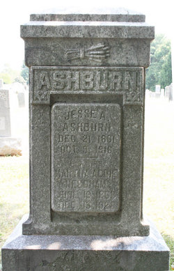 Martha Adeline Addie <i>Needham</i> Ashburn