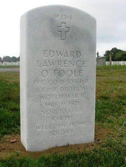 PFC Edward Lawrence O'Toole