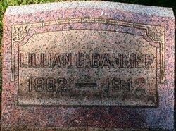 Lillian O'Della <i>Fowler</i> Bahmer