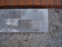 Harriet J <i>Foster</i> Flack