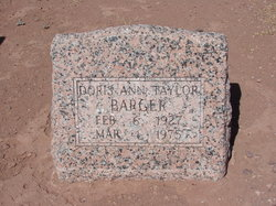 Doris Ann <i>Taylor</i> Barger