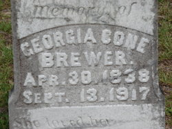 Georgia Ann <i>Cone</i> Brewer
