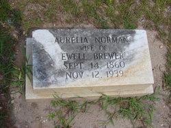 Aurelia <i>Norman</i> Brewer