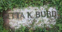 Etta K <i>Gulick</i> Burd