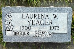 Laurena W. <i>Warren</i> Yeager