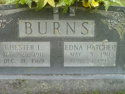 Edna <i>Hatcher</i> Burns