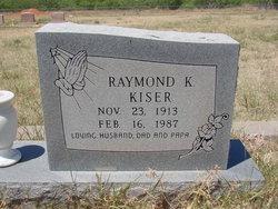 Raymond K Kiser