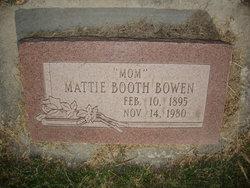 Mattie <i>Booth</i> Bowen