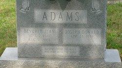 Beverly Jean <i>Burton</i> Adams
