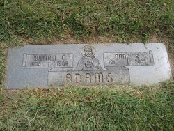 Anna R <i>Gibbear</i> Adams