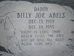 Billy Joe Abels