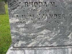Rhoda M Alexander