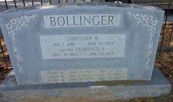 Florence R <i>Minnich</i> Bollinger