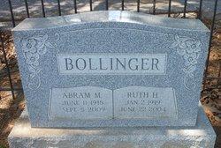 Ruth <i>Hollinger</i> Bollinger