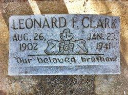 Leonard F Clark