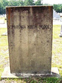 Sophronia <i>Nixon</i> Brooks