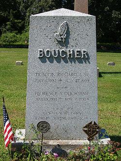 Florence A. <i>Ducharme</i> Boucher