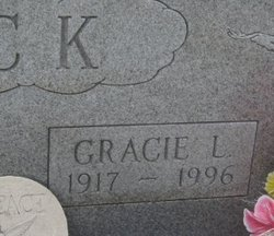 Gracie Lee <i>Judy</i> Black