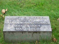Juliet B <i>Pierson</i> Bonnel