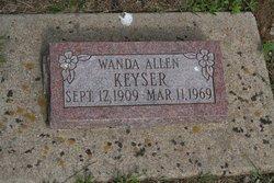 Wanda <i>Allen</i> Keyser