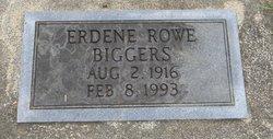 Erdene <i>Rowe</i> Biggers