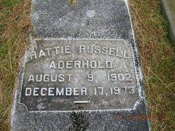Hattie <i>Russell</i> Aderhold