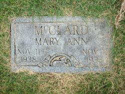 Mary Ann McClard