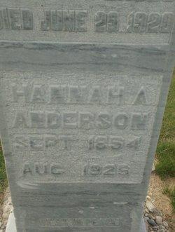 Hannah <i>Anderson</i> Anderson
