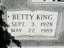 Betty J. <i>King</i> Alsbrooks