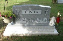 Nettie Marie <i>Wezensky</i> Custer