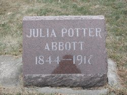 Julia <i>Potter</i> Abbott