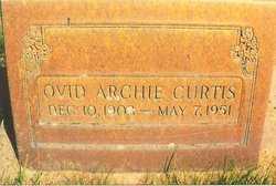 Ovid Archie Curtis