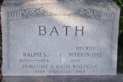Marion E. <i>Day</i> Bath