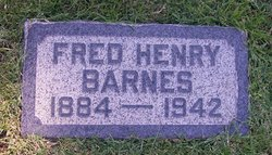 Fred Henry Barnes