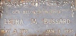 Aletha M <i>Driscol</i> Bussard