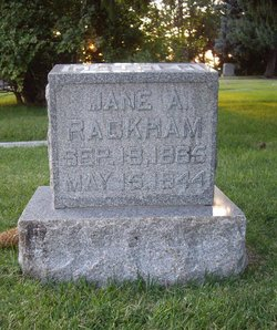 Jane Agnes <i>Batley</i> Rackham
