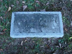 Alice Maria <i>Field</i> Allbee