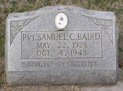 Pvt Samuel C. Baird
