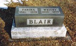 Sabina <i>Brillhart</i> Blair