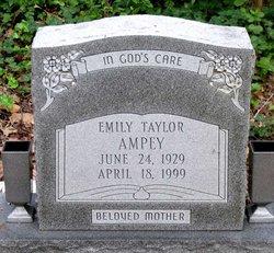 Emily <i>Taylor</i> Ampey