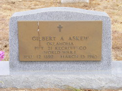 Pvt Gilbert A. Guy Askew