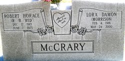 Robert HORACE Red McCrary